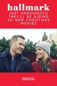If you're ready to start planning your Christmas movie marathons, check out Hallmark's lineup. They've announced 23 new movies coming to Hallmark channel, with 17 more films planned for the Hallmark Movies and Mysteries channel. #hallmarkmovies #hallmarkchannel #christmasmovies #bhg