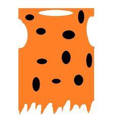 Carnaval kostuum maken Flintstones