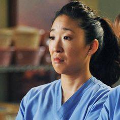 Metadinha Cristina Yang, Meredith E Cristina, Grey's Anatomy, Hot Doctor, Jackson Avery, Lexie Grey, Sandra Oh, Gray Matters, Foto Instagram
