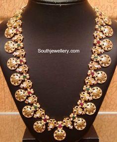 Kasulaperu latest jewelry designs - Page 4 of 46 - Indian Jewellery Designs Indian Jewellery Design, Indian Jewelry, Jewelry Design, Jewellery Diy, Diamond Jewellery, Jewelry Making, Bridal Jewelry, Gold Jewelry, Beaded Jewelry