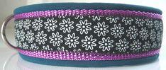 Handgemachtes Halsband mit softshell Polsterung