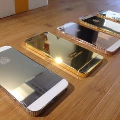 Gold n Silver iPhone Covers .:JuSt*!N*cAsE:.