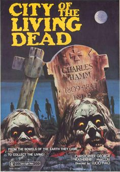 City of the Living Dead (aka The Gates of Hell, 1980)   .....................Please save this pin.   .............................. Because for vintage collectibles - Click on the following link!.. http://www.ebay.com/usr/prestige_online