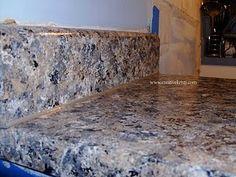 Painting laminate countertop