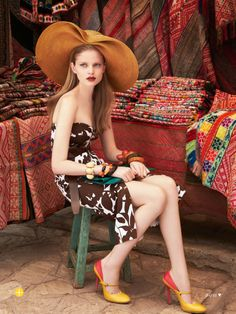 the accidental tourist: nathalia oliveira by nicole bentley for marie claire australia march 2014