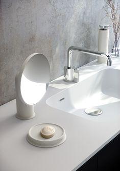 #Accesorios de encimera diseñados por #Nahtrang para #Cosmic Basin, Cosmic, Home Decor, Simple, Ideas, Modern Bathrooms, Vanity Tops, Bathroom Furniture, Bathroom Sinks