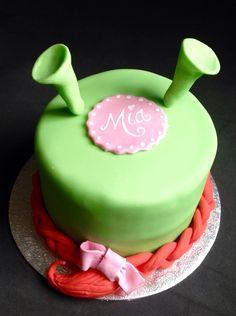 Mini Shrek cake