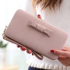 Luxury Women Wallet Phone Bag Leather Case For iPhone 7 6 6s Plus 5s 5 Samsung Galaxy S7 Edge S6 J5 Xiaomi Mi5 Redmi 3S Note 3 4