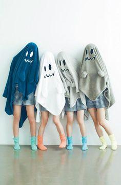 Simple Halloween ghost costume