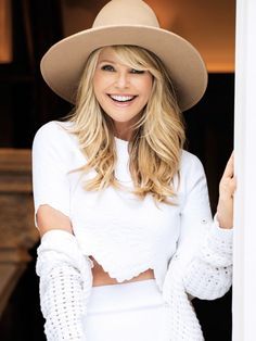 When Christie Brinkley gives beauty advice, we listen. For her youthful glow? By Terry Blush in Bubble Glow; a hyaluronic acid foam, for a sheer glow. By Terry is one of my absolute favorites; quality line.
