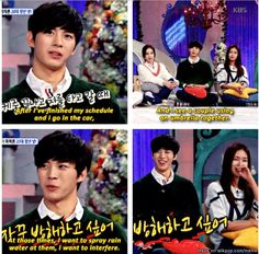 [NOT MINE] Hongbin was asked: When do you feel lonely? XD | allkpop Meme Center