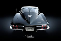 Split-window Corvette Sting Ray -- one of my dream cars.  Best year 1963!