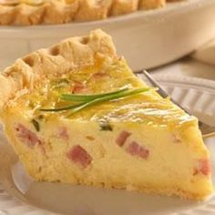 Ham And Swiss Quiche - Allrecipes.com