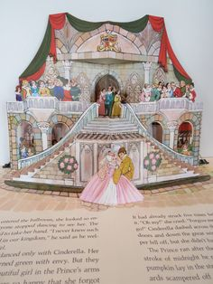 Hallmark Pop-Up Books. This is Cinderella. I have The Pixie Cook Book, Lamont The Lonely Monster & Alice in Wonderland.