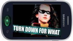 Fajny dzwonek na telefon komórkowy - Turn Down For What