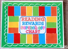 Reading Rewards Scra