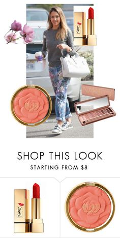 """12"" by alma-ja ❤ liked on Polyvore featuring Yves Saint Laurent, Urban Decay and Milani"