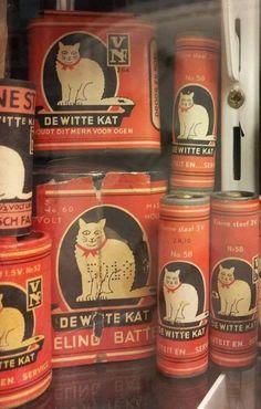 'Witte Kat' batterijen. Div.maten en vormen. Div.spanningen