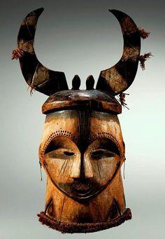 Fang/Bulu helmet-mask, Gabon. Source: Sotheby's.