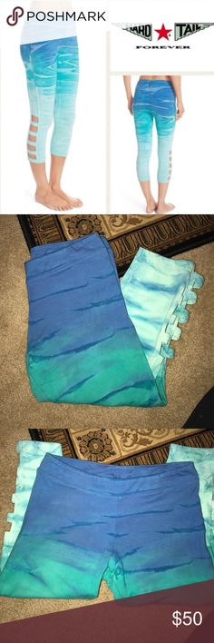 Hard Tail tie dye leggings. Worn one time! Great condition. Soft and cute. Hard Tail Pants Leggings