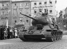 Ostrava-Opava operations in Cs. Operation Barbarossa, T 34, Armored Fighting Vehicle, Ww2 Tanks, Battle Tank, Red Army, Panzer, Armored Vehicles, War Machine