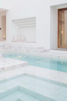 Marble Pool & Seating Nook - Sala Ayutthaya Hotel, Thailand