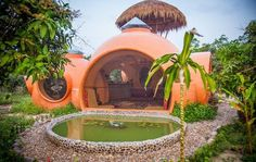 Exotic Modern House Design Offering Inexpensive and Eco Friendly Thai Dome Home