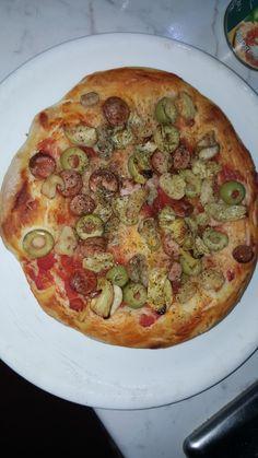 La mia prima pizza fatta in casa