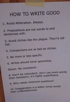 How to write good // funny pictures - funny photos - funny images - funny pics - funny quotes - #lol #humor #funnypictures