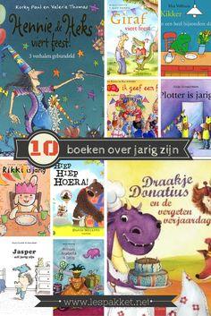Een verjaardag is natuurlijk een belangrijke gebeurtenis in het leven van een kind. Maar ook de verjaardag van de juf of meester of een ander belangrijk persoon mag natuurlijk niet onopgemerkt voorbij gaan! Ik geef je vandaag 10 boekentips: boeken die gaan over jarig zijn. #JufBianca