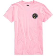 Maui and Sons Men's Arnold Sharkley Graphic-Print Logo T-Shirt ($24) ❤ liked on Polyvore featuring men's fashion, men's clothing, men's shirts, men's t-shirts, pink, mens graphic t shirts, mens pink t shirt, mens pink shirts and mens t shirts