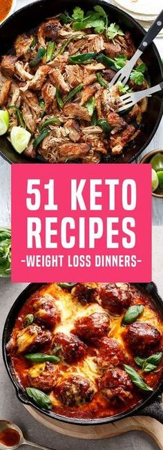 51 Delicious Keto Recipes That Make The Perfect Weight Loss Dinner!