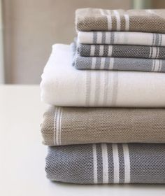 Cotton dish rags and towels