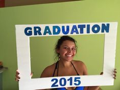 GRADUATION frame for party