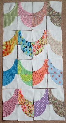 Mack and Mabel: Block Buster Sunday #1 Curved Piecing Tutorial, Drunkards Path and Variations