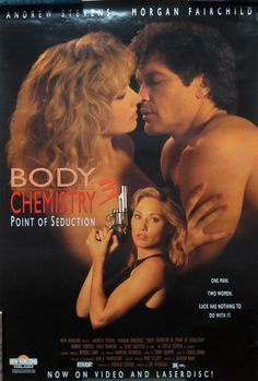 BODY CHEMISTRY 3 Movie POSTER 1994 Point of Seduction Morgan Fairchild 27x40