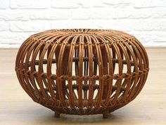 Franco Albini Stool - I grew up playing in this... I remember outgrowing it and no longer being able to fit in it...