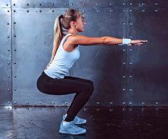 30-Tage-Po-Challenge: Squat