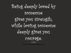 Best #Pinterest #Quotes: Being Deeply Loved by Soemone  #inspirationalsaying @jokessmsshayari