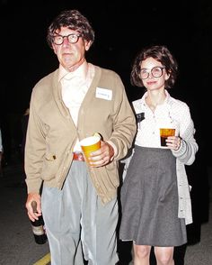 harrison ford and Calista Flockhart at halloween. This is FRIGGEN AWESOME!!!!