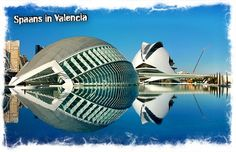 Santiago Calatrava: World tour of every significant building he's designed, starting with this one in Valencia. Santiago Calatrava, Oh The Places You'll Go, Places To Travel, Places To Visit, Amazing Architecture, Contemporary Architecture, Organic Architecture, Valencia City, Valence
