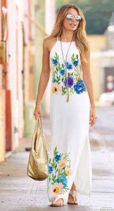 Fashion Outfits, Womens Fashion, Beautiful Dresses, Blouses, Block Prints, Tejido, Casual Clothes, Dama Dresses, Women