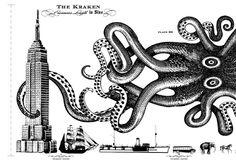 the kraken / stranger  stranger http://media-cache9.pinterest.com/upload/262264378270211060_91L1buDb_f.jpg tempspaz illustrative