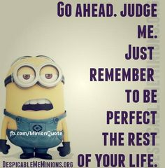 Here we have some of funniest Minions images, quotes and Jokes . If you love these Yellow Capsule looking adorable and funny Minions . Funny Minion Memes, Cute Minions, Minions Quotes, Minion Sayings, Minions Images, Minion Humor, Funny Quotes, Life Quotes, Qoutes