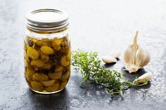 Simple Garlic Confit with Herbs recipe
