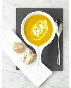 Voglia di un piatto caldo e gustoso? Ecco la zuppa di #carote e #zenzero! #Cucina #ricetta