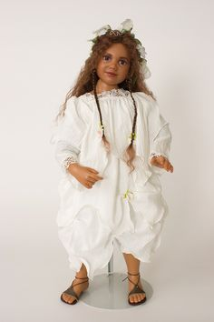Collectible Limited Edition Resin doll Rashida by Ann Timmerman