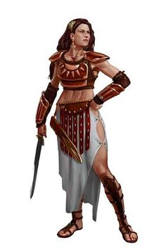 Tagged with art, drawings, fantasy, dungeons and dragons; DnD female clerics, rogues and rangers - inspirational Female Character Concept, Fantasy Character Design, Character Design Inspiration, Character Art, Warrior Girl, Fantasy Warrior, Fantasy Rpg, Dnd Characters, Fantasy Characters
