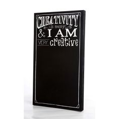 Twelve Timbers 28 Chalkboard Creativity Wooden Panel in White - Beyond the Rack