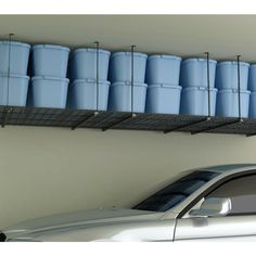 HyLoft 45 in. x 45 in. Ceiling Storage Unit-00625 at The Home Depot - Garage Shelving/Storage